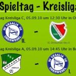 Spieltag 2 & 4 in der Kreisliga