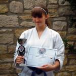 Tamara Henrich erreicht grandiosen 3. Platz bei der Deutschen Meisterschaft Formen 2010 in Appenheim