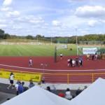 Das BOMAG-Stadion in Boppard-Buchenau