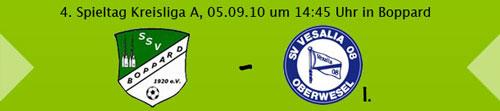 Das Derby am Rhein: SG Boppard - SV Oberwesel