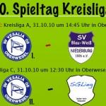 13. und 10. Spieltag in der Kreisliga A & C