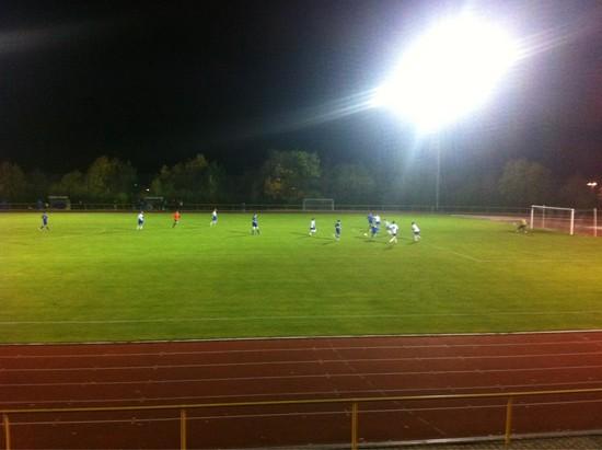 FC Karbach II - SV Niederburg am Donnerstagabend in Emmelshausen