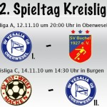 15. und 12. Spieltag in der Kreisliga A & C