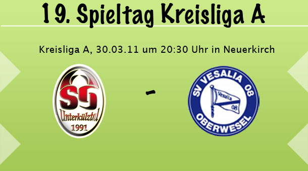 SG Kümbdchen-Keidelheim - SV Oberwesel, 25.03.2011 um 20.30 Uhr