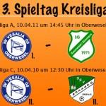 Spitzenspiel in der Kreisliga A und Rhein-Derby