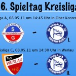 SG Ober Kostenz - SV Oberwesel | TuS Werlau - SV Oberwesel II