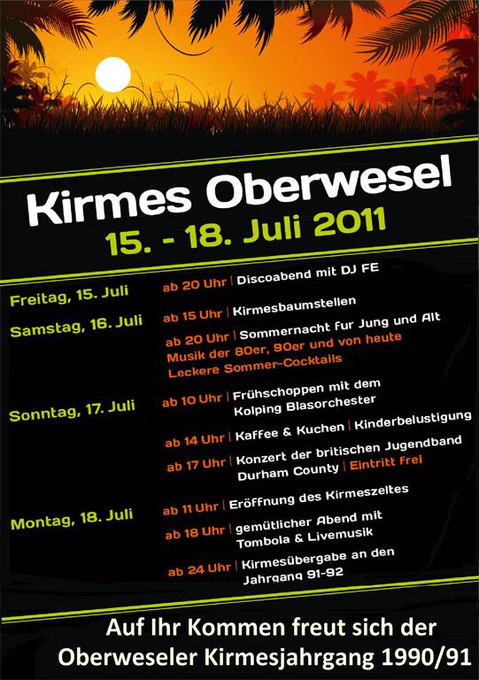 Kirmes 2011 in Oberwesel
