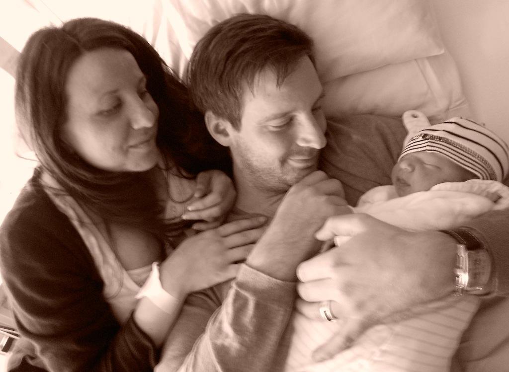 Michelle, Dennis und die kleine Fabienne