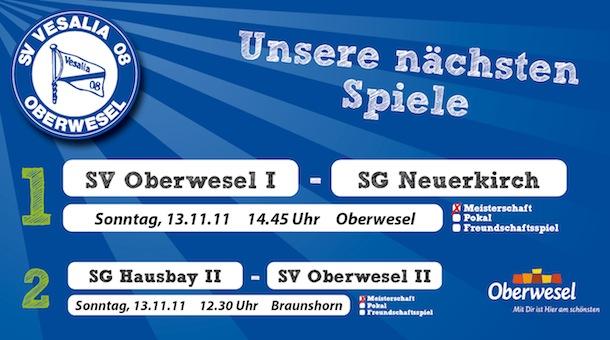 15. Spieltag in der Kreisliga A & C