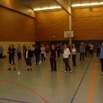 62 Teilnehmer verwandelten die Halle in einen Tanztempel