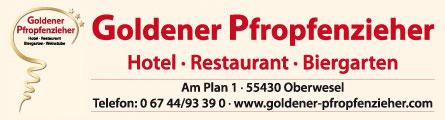 Goldene Pfropfenzieher | Am Plan 1 | 55430 Oberwesel | 06744-93390