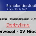 Der Klassiker Oberwesel gegen Niederburg