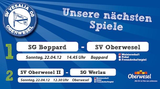 26. und 22. Spieltag in der Kreisliga A und C