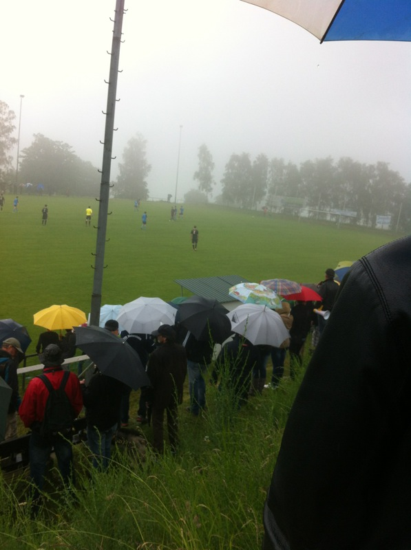 Einen Sieger gab es nicht, dafür viel Regen und Nebel