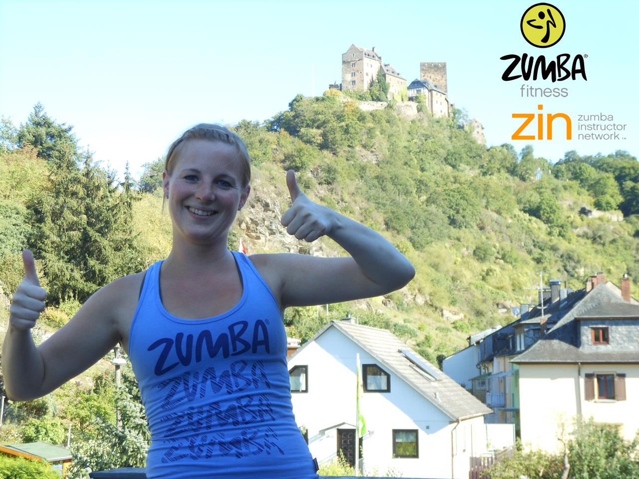 Zumba Instructor Andrea Reifenröther