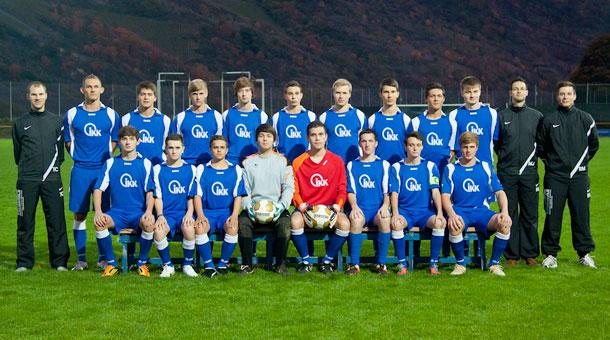 Mannschaftsbild A-Junioren JSG Oberwesel