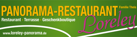 Panorama Restaurant Loreley | An der Loreley | 56329 St.Goar | 06741-356
