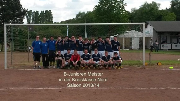 B-Junioren_Stafellemeister_2013-14